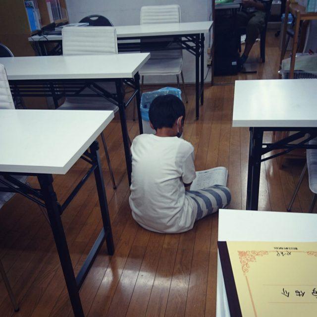 床で勉強? 加須市花崎・花崎駅・学習塾
